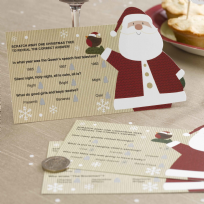 Let It Snow - Father Christmas Scratch Card Trivia (10)